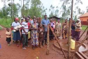 The Water Project: Marongo-Kahembe Community -  Community Members At The Well