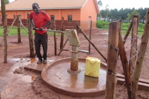 The Water Project: Marongo-Kahembe Community -  Pumping The Well