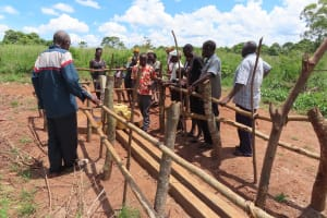 The Water Project: Rwenziramire Community -  Community Members At The Well