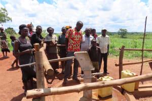 The Water Project: Rwenziramire Community -  Well Dedication