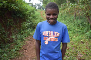 The Water Project: Harambee Community, Elijah Kwalanda Spring -  Elvin N