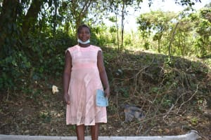 The Water Project: Makhwabuye Community, Majimazuri Lusala Spring -  Valentine Lusala