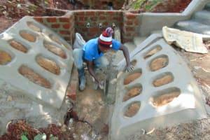 The Water Project: Shikoye Community, Kwa Witinga Spring -  Drainage Construction