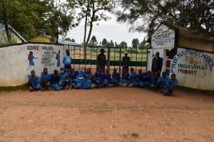 The Water Project: Ingavira Primary School -  Entrance To The School