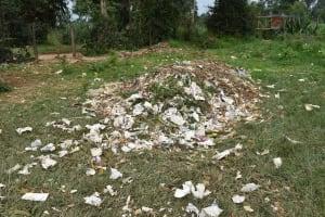 The Water Project: Ingavira Primary School -  Garbage Heap