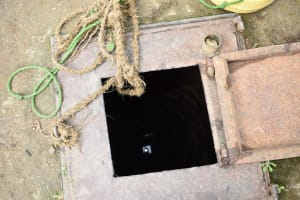 The Water Project: Ingavira Primary School -  Hand Dug Well