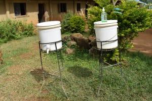 The Water Project: Ingavira Primary School -  Handwashing Facilities