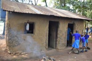 The Water Project: Ingavira Primary School -  Outside Kitchen