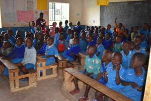 The Water Project: Ingavira Primary School -  Pupils Inside Classroom