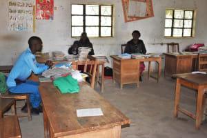 The Water Project: Ingavira Primary School -  Staffroom