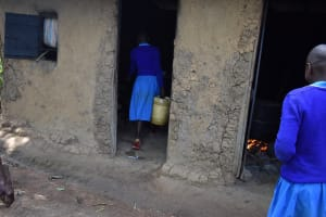 The Water Project: Ingavira Primary School -  Taking Water To The Kitchen