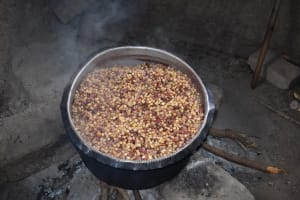 The Water Project: Mali Mali Primary School -  Cooking In Kitchen