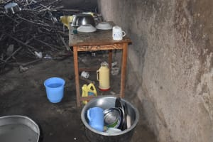 The Water Project: Mali Mali Primary School -  Dishes Inside Kitchen