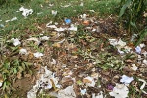 The Water Project: Mali Mali Primary School -  Garbage Heap