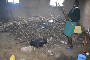 The Water Project: Mali Mali Primary School -  Inside Kitchen