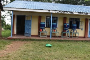 The Water Project: Mali Mali Primary School -  Lifestraw Containers