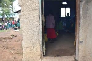 The Water Project: Mali Mali Primary School -  Outside Kitchen