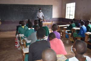 The Water Project: Mali Mali Primary School -  Pupils Inside Classroom