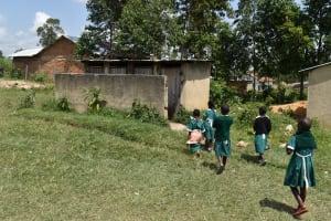 The Water Project: Mali Mali Primary School -  Pupils Using Latrines