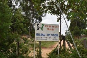 The Water Project: Mali Mali Primary School -  Sign Post