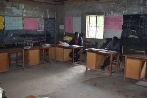 The Water Project: Mali Mali Primary School -  Staff Room