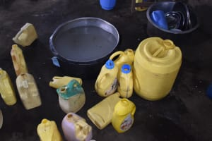 The Water Project: Mali Mali Primary School -  Water Storage Containers