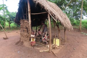 The Water Project: Kyamaiso Community -  Women Preparing Food