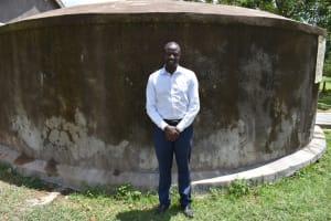 The Water Project: St. Gerald Mayuge Secondary School -  Mr Fredrick Omondi Sanitation Teacher