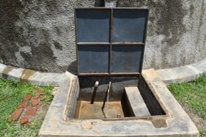 The Water Project: St. Gerald Mayuge Secondary School -  Water Flowing