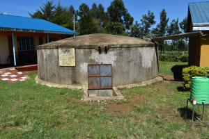 The Water Project: Sawawa Secondary School -  Water Flowing