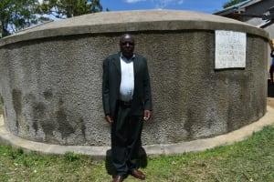 The Water Project: St. Michael Mukongolo Primary School -  Mr Caudayia Khakai
