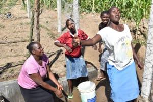 The Water Project: Shianda Community, Akhonya Spring -  Happy At Akhonya Spring