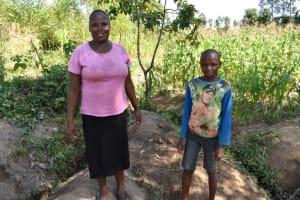 The Water Project: Shianda Community, Akhonya Spring -  Jackline And Braidon