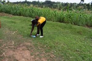 The Water Project: Shianda Community, Akhonya Spring -  Solar Treating Water
