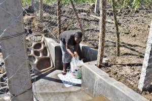 The Water Project: Shianda Community, Akhonya Spring -  Smiles At Waterpoint