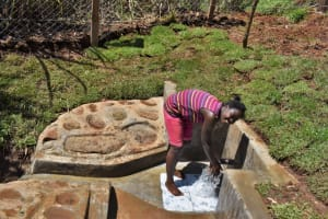 The Water Project: Lukala West Community, Luka Spring -  All Smiles At Luka Spring