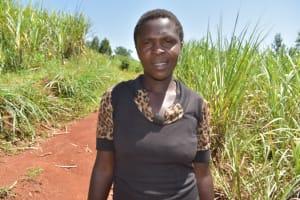 The Water Project: Lukala West Community, Luka Spring -  Janet Makari Secretary