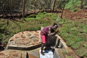 The Water Project: Lukala West Community, Luka Spring -  Playing With Water