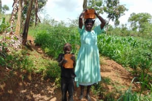 The Water Project: Lukala West Community, Luka Spring -  Community Participation