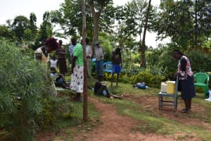 The Water Project: Lukala West Community, Luka Spring -  Prayer Session