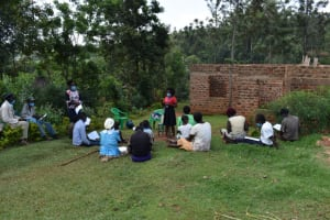 The Water Project: Lukala West Community, Luka Spring -  Training In Session