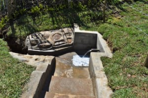The Water Project: Lukala West Community, Angatia Spring -  Complete Angatia Spring