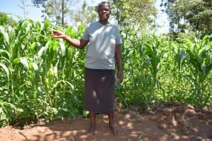 The Water Project: Lukala West Community, Angatia Spring -  Grace Angatia