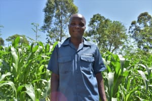The Water Project: Lukala West Community, Angatia Spring -  Hudson Charles Treasuer