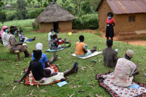The Water Project: Lukala West Community, Angatia Spring -  Training In Session