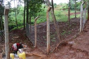 The Water Project: Shikoye Community, Kwa Witinga Spring -  Kwa Witinga Spring