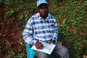The Water Project: Shikoye Community, Kwa Witinga Spring -  Nicholas Shiga