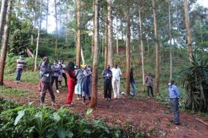The Water Project: Shikoye Community, Kwa Witinga Spring -  Onsite Training