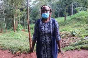 The Water Project: Shikoye Community, Kwa Witinga Spring -  Rose Ashihundo