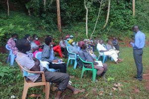 The Water Project: Shikoye Community, Kwa Witinga Spring -  Kwa Witinga Spring Training
